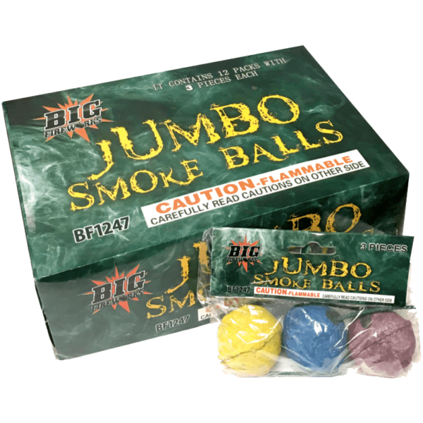 Jumbo Smoke Balls