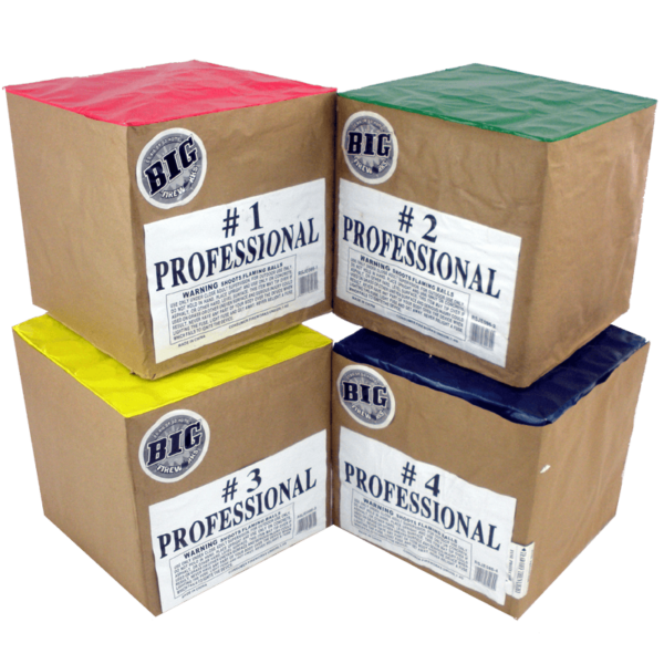 Professional 4 Pack
