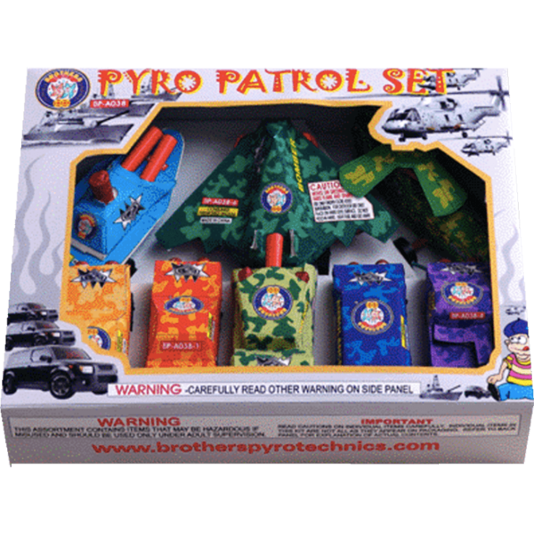 Pyro Patrol Set