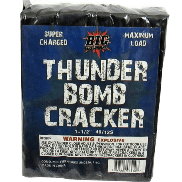 Thunder Bomb Cracker Half Brick